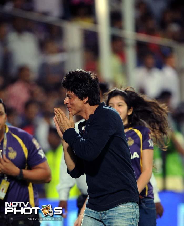 And he did not forget to thank the Pune crowd for their support.
