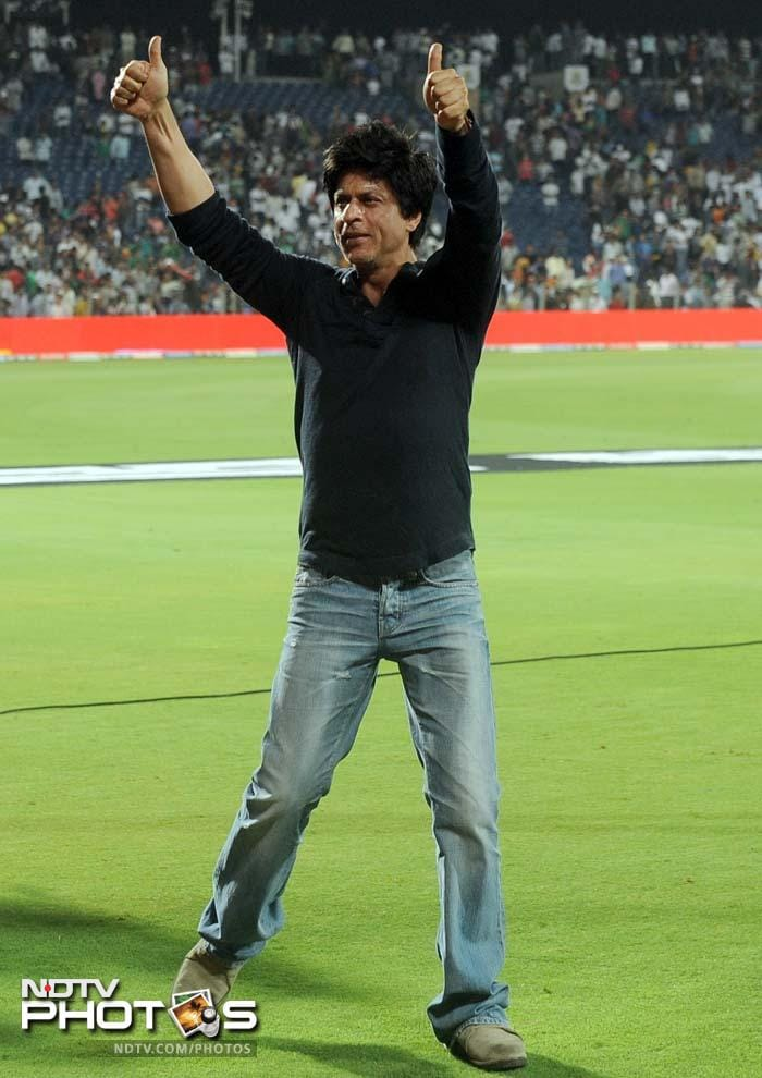 Shah Rukh will now hope that his team lifts the trophy this year.