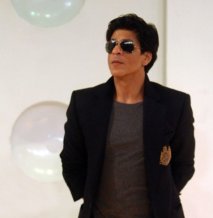 Shah Rukh revealed that the black colour had been removed from the ...