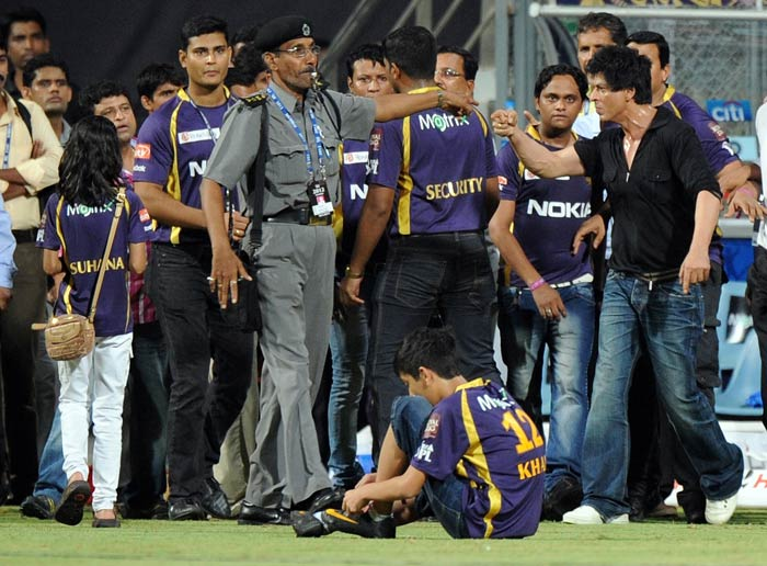Shah Rukh Khan, owner of IPL team Kolkata Knight Riders, has been banned from Mumbai's Wankhede stadium for five years for his alleged brawl with the MCA officials and security personnel.