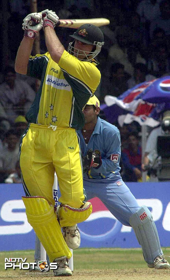 <b>The first Twenty20:</b> For the first T20 of the series, the teams move to the Indira Priyadarshini Stadium in Visakhapatnam. The stadium has just hosted 5 ODIs till now and India has featured in three of them, winning two and losing one. India won the only one-day they played here against New Zealand way back in 1988. The photograph shows India-Australia ODI back in 2001 which India lost badly by 93 runs. This will be the first T20 international at the stadium.