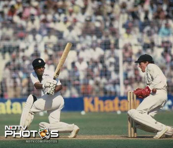 1986-87: On December 21 1986, Gavaskar scores his 34th and final Test century, a knock of 176 in the 1st Test against Sri Lanka at Kanpur. After the Lankan series, he plays Pakistan in what is his last Test series. In the fourth Test at Ahmedabad, Gavaskar becomes the first batsman to go past 10,000 runs during his knock of 63. The following match at Bangalore on March 13, 1987, turns out to be his final Test, in which he finishes with scores of 21 and 96. <br><br> On the ODI front, after having gone through his entire career without scoring a one-day century, he manages his first (and only ODI century) in the 1987 World Cup. He slams an unbeaten 103 against New Zealand at the Vidarbha Cricket Association Ground, Nagpur, in his penultimate ODI inning.