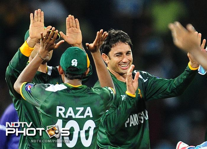 Saeed Ajmal once again proved why he is the best bowler across formats. He took 3/17 in his quota of overs to rock not just the Aussies but also pushed India on to the brink of an exit.