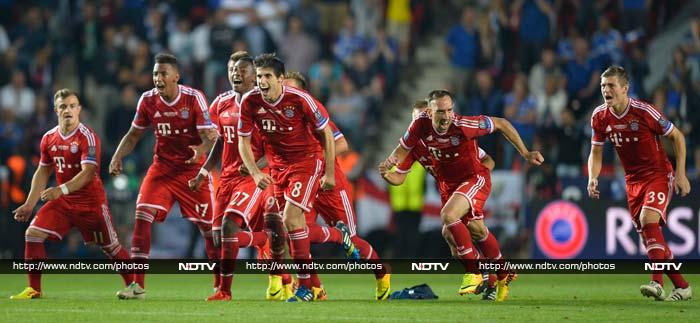 As it had finished 2-all following extra-time at Prague's Eden Arena, Bayern held their nerve for a 5-4 penalty shoot-out win after Chelsea replacement Romelu Lukaku missed the crucial tenth spot-kick.