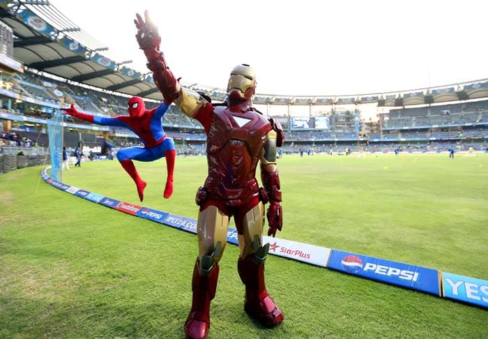 The buzz for Iron Man is at top as the movie hit screens in India a week before it releases in USA. (Image BCCI)