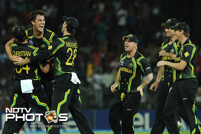 Pat Cummins was economical and deadly at the same time taking crucial wickets of Dhoni and Yuvraj which prevented India from getting a decent partnership. He finished with 2/16 in 4 overs.