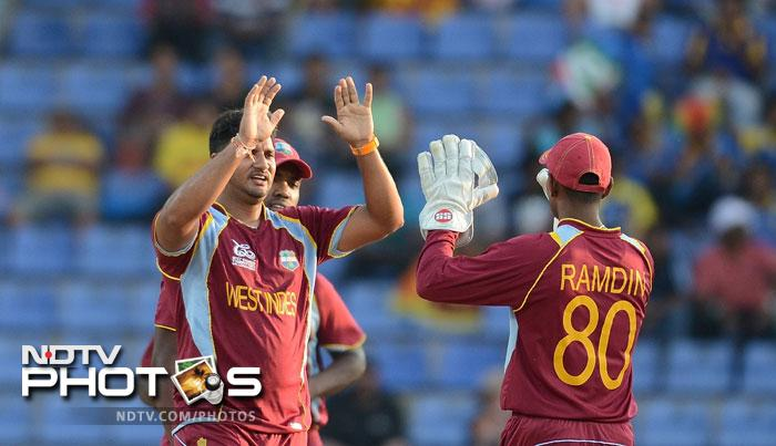 West Indies, though, started brilliantly with the ball and a constantly improving Ravi Rampaul got Rob Nicol trapped in front.