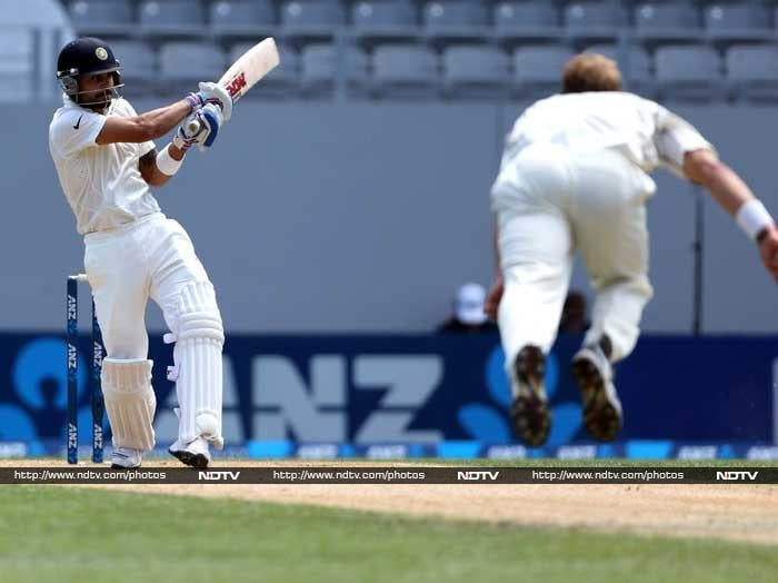 Virat Kohli was in a punishing mood as he stroked a fluent 67.