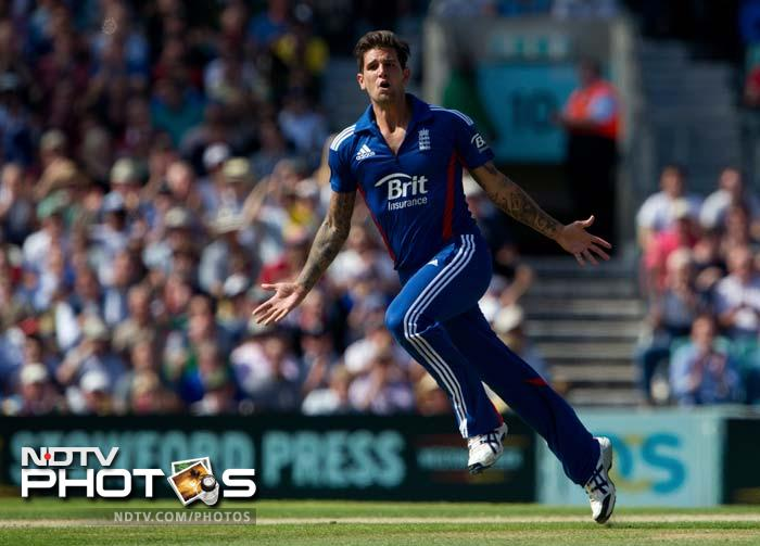 """<b>Jade Dernbach</b>: The fast bowler has been in the thick of things for England in its quest to gain supremacy in the limited overs cricket. With an ability to constantly hit the deck at over 140kmph, he also has one of the best slower deliveries going around in World cricket. England will look up to him to provide the """"X-factor"""" in bowling."""
