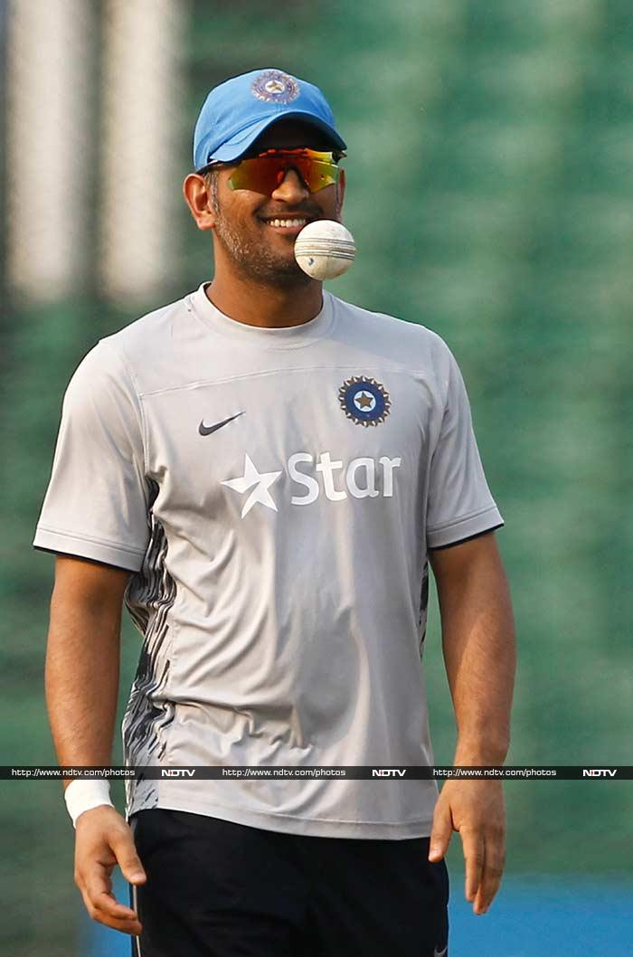 Dhoni though would be a bit concerned about his other batsmen and has previously said on record that the fact that they haven't been tested is a concern.