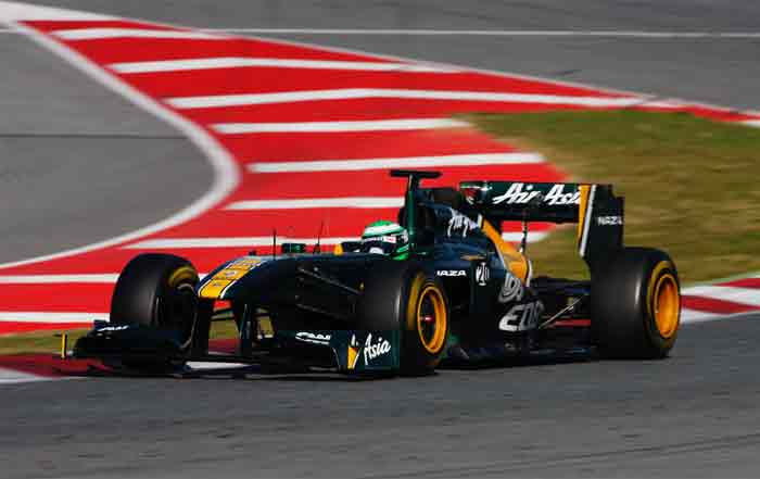 Lotus Chief executive Riad Asmat has already said that he expects the car to be a genuine midfield runner and challenge for point-scoring positions. (Getty Images)