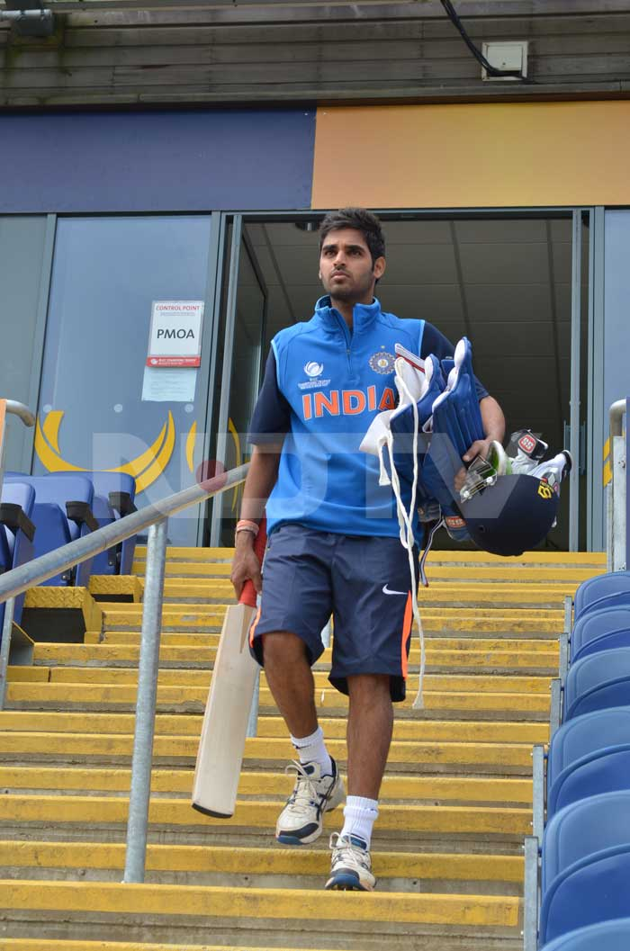 With five wickets in three matches, pacer Buvneshwar Kumar has been skipper MS Dhoni's go-to bowler in the tournament.