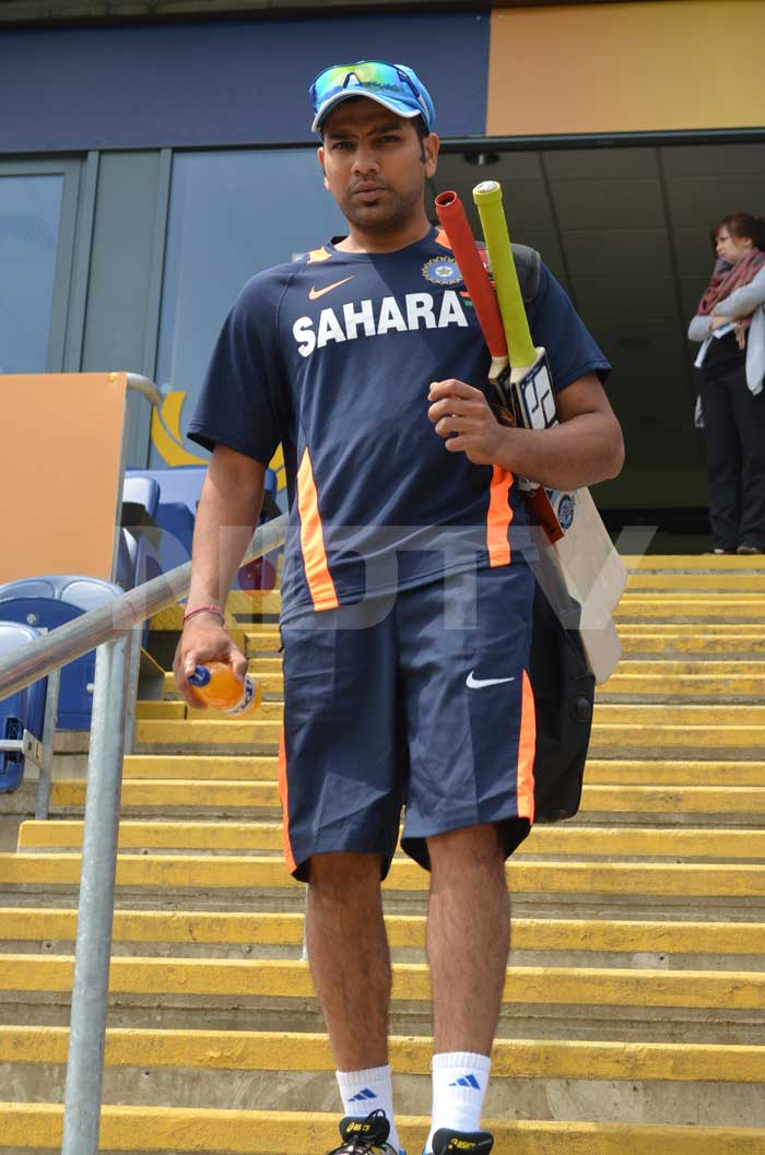 A failure in the middle order during the warm-ups, Rohit Sharma made it count when he opened with Shikhar Dhawan in the first three matches of the tournament.