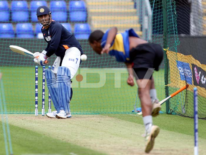 Indian batsmen enjoyed a full-fledged training with at least five nets bowlers from the Glamorgan County club.