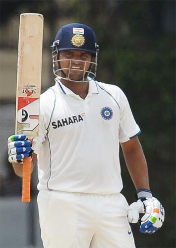 <b>Suresh Raina</b><br><br> <b>Rating: 7/10</b><br><br> Raina has been by far the biggest find of the tour as he stunned everyone with his mature display in the longer format of the game.<br><br> Been in the sidelines for long as a one-day specialist, the southpaw made most of his opportunity in the second Test as he became the 12th Indian to post a century on debut.<br><br> A fine fifty in the first innings of the third Test and a late cameo in the second helped Raina star in the Indian victory as he finished the series with 223 runs from 3 innings with a magnificent average of 111.50.