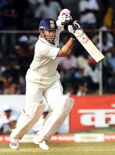 <b>Sachin Tendulkar</b><br><br> <b>Rating: 8/10</b><br><br> This man continues to defy age and all other odds to break new ground. He was India's most prolific batsman in the series scoring 390 runs from 5 innings at a staggering average of 78.<br><br> He scored a gritty double century in the second Test match to grind out a draw for India and then played two fluent knocks in the both the innings of the last Test match to enable his team to draw the series.