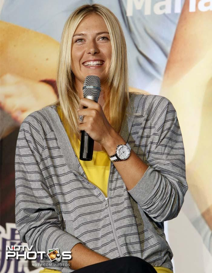 Sharapova can even give her own example to inspire children as she began playing at an early age, turning pro by 17. She however does not have just child welfare on her mind.