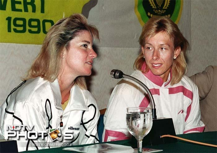 <b>Chris Evert vs Martina Navratilova:</b> Their rivalry spanned 15 years from 1973 to 1988. While Navratilova leads the head-to-head against Evert 43-37, age and experience had always been on Evert's side.