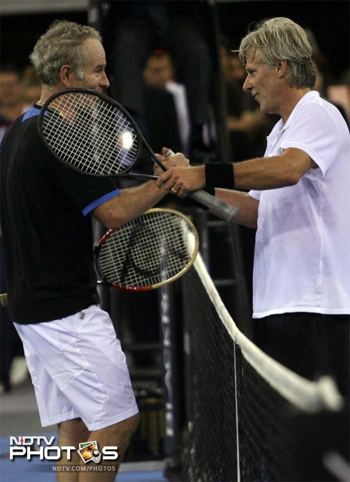 <b>Bjorn Borg vs John McEnroe:</b> Rewind to late 70s and early 80s and two men were battling it out with passion. Their rivalry was termed fire and ice because of the calm approach of Borg as against the fiery McEnroe.<br><br> McEnroe had the better of Borg in a rough estimate but the close calls made this enmity riveting.