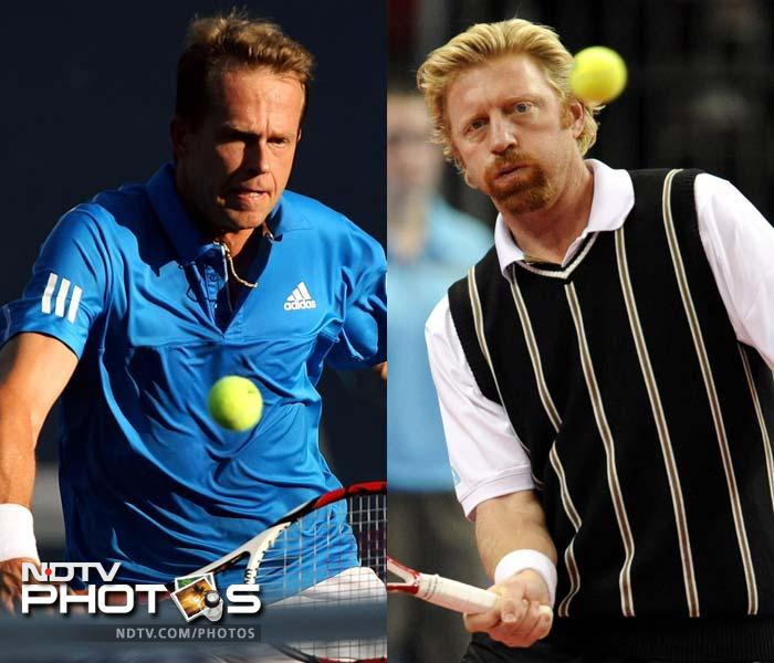 <b>Stefan Edberg and Boris Becker:</b> Their head-to-head record that is 25-10 in the favour of Becker does not do justice to their battles. Edberg won three of their four Grand Slam meetings. The most memorable aspect of this rivalry was their three successive Wimbledon final contests from 1988-90.<br><br>Roger Federer has cited the Edberg-Becker rivalry in Wimbledon finals as his inspiration for choosing to play tennis over football.