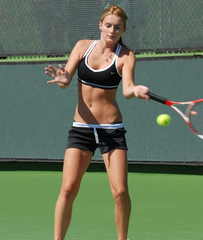 <b>Iveta Benešová</b>, Czech Republic: She began playing tennis at age of 7 and turned professional in 1998 in Prague. She has won one WTA Tour event, Tier III in Acapulco in 2004. Her current WTA ranking is No. 43 (as of February 1, 2010).