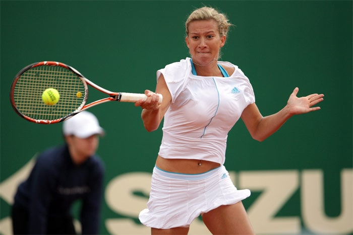 <b>Marta Domachowska</b>, Poland: She began playing at age 7. She reached the semi finals of Australian Open Junior Championships in 2003. Her racquet brand is Wilson. She speaks four languages: Polish, English, Spanish and Russian. Other than tennis, she enjoys sports such as football and swimming. She is engaged to Polish butterfly and freestyle swimmer Pawel Korzeniowski. Her current WTA ranking is No. 135 (as of February 1, 2010).