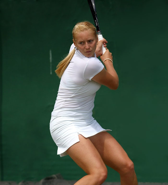 <b>Olga Poutchkova</b>, Russia/Belarus: As a junior she played for Belarus, and is sometimes listed as Belarusian as a professional. In 2006 she made her WTA Tour main draw debut in Hobart, Australia as a qualifier; however she lost in the first round to Mara Santangelo. Poutchkova reached her first WTA Tour final in Kolkata, India, in September 2006, losing to Martina Hingis (6-0, 6-4), but beating seventh seed Nicole Pratt en route.