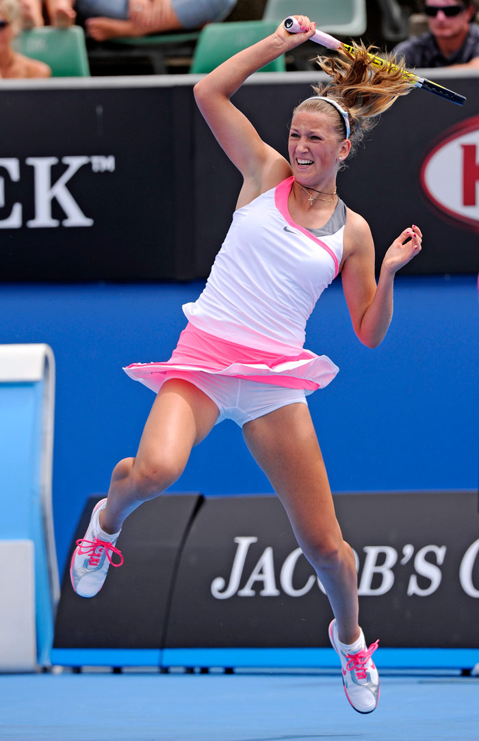 <b>Victoria Azarenka</b>, Belarus: Azarenka has won two mixed doubles Grand Slam titles - 2007 US Open with Max Mirnyi and 2008 French Open with Bob Bryan. She has also won three singles titles, all in 2009. Her current WTA ranking is No.6 (as of February 1, 2010).