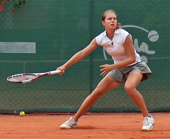 <b>Stefanie Voegele</b>, Switzerland: Her highest WTA singles ranking is No. 69, which she reached on February 1, 2010. Her career high in doubles is No. 131, which she reached on March 2, 2009.