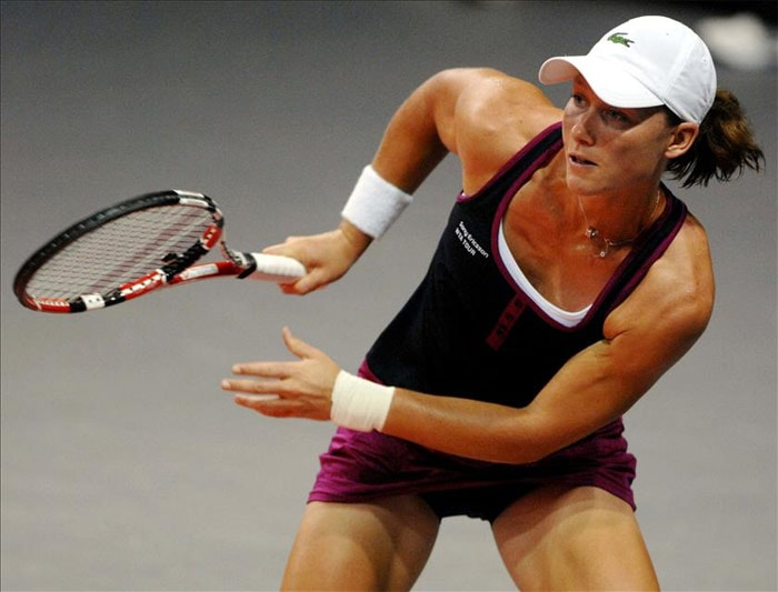 <b>Samantha Stosur</b>, Australia: She is a former world No. 1 on WTA Tour in doubles, together with Lisa Raymond from the United States. As of February 1, 2010, Stosur is ranked No. 11 in singles and No. 7 in doubles by the WTA.