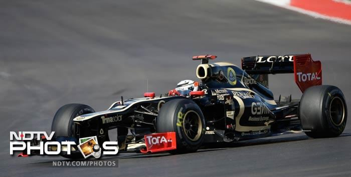 Kimi Raikkonen created history at Abu Dhabi as he led Lotus to victory. He starts fourth on grid on Sunday in Texas and that will keep the others very alert.