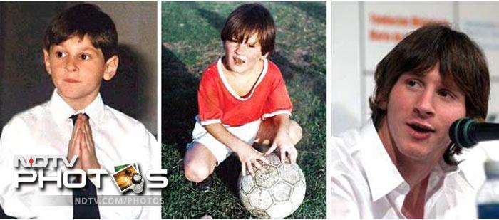 Messi Before Growth Hormones Messi suffered from Growth
