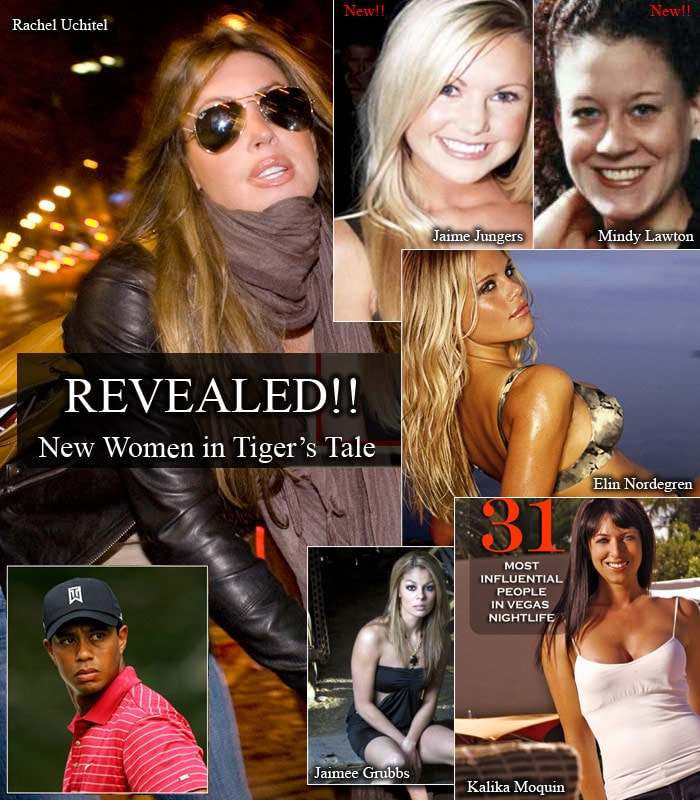 One after other, alleged mistresses of the ace golfer came to the fore. And the number soon surged to ten, leaving his wife and his fans across the globe hurt and shocked. However, if recent claims are to be believed, the list has grown to fourteen.<br><br>His list of mistresses include Holly Sampson, a porn star; Jamiee Grubbs, a cocktail waitress; Kalika Moquin, 27, a Las Vegas club manager; model Jamie Jungers, 26; Mindy Lawton, a 33-year-old waitress from Orlando; and three unidentified women, two from British reports and another waitress from Orlando.