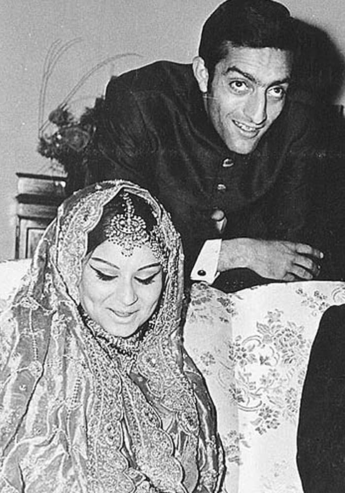 In 1969, he married actress Sharmila Tagore in a fairytale wedding that was to become Bollywood lore. The couple had three children – actors Saif and Soha, and jewellery designer Saba.