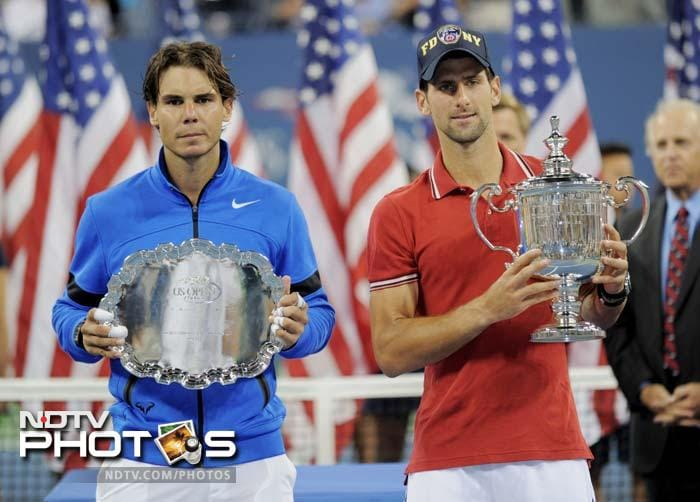 In 2011, Djokovic defeated Rafael Nadal (left) to win the US Open.<br><br>Nadal will now be banking on his wins in Rome and the recent victory in Cincinnati to stake his claim to slightly lost glory.