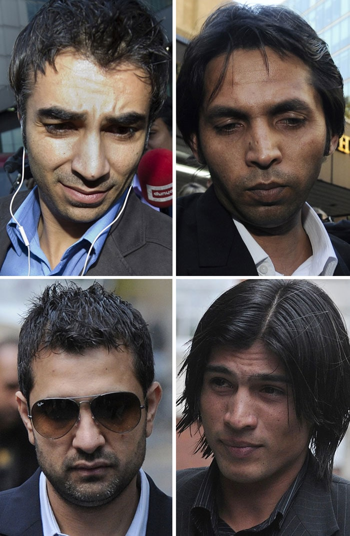 Pakistan's long standing problems with match-fixing allegations continued this year. A London court convicted Pakistani players Salman Butt (30 months), Mohammed Amir (6 months) and Mohammed Asif (12 months) on spot-fixing charges on November 3 for bowling deliberate no balls in a 2010 match against England. The players are said to have received between 2,500 to 65,000 pounds in bribes. All three have been handed jail terms, but may get off with serving just half their sentences depending on good behavior.