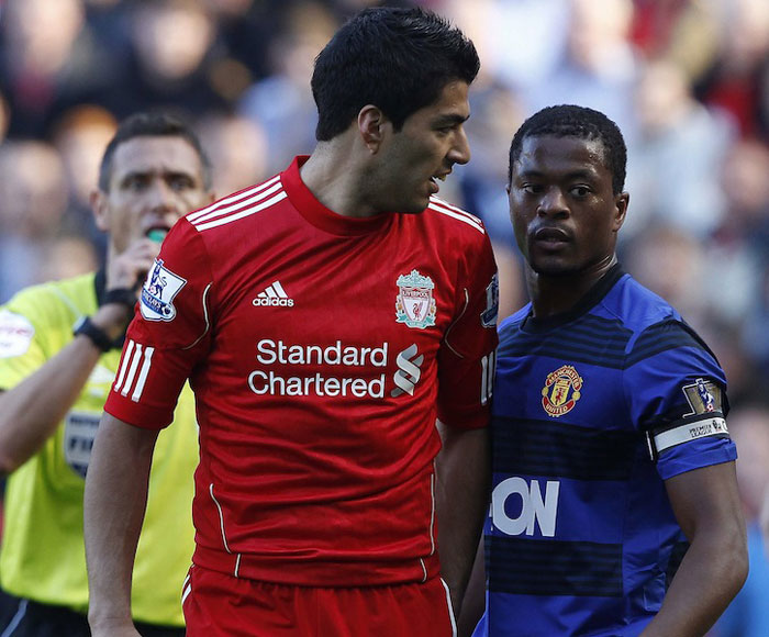 Premier League football, never the most polite of games, erupted into a race row when Manchester United defender Patrice Evra accused Liverpool striker Luis Suarez of hurling insults at him that referred to Evra's ethnic origin. On November 16 Suarez was formally charged by the Football Association with racial abuse even as the Uruguay player maintained his innocence. Manchester United chief Alex Ferguson was asked by the FA not to speak about the matter, while Liverpool stands firmly behind Suarez. A similar incident involving Chelsea captain John Terry, who has been accused by QPR defender Anton Ferdinand of racially abusing him, is also under investigation by the English FA and London's Metropolitan Police.