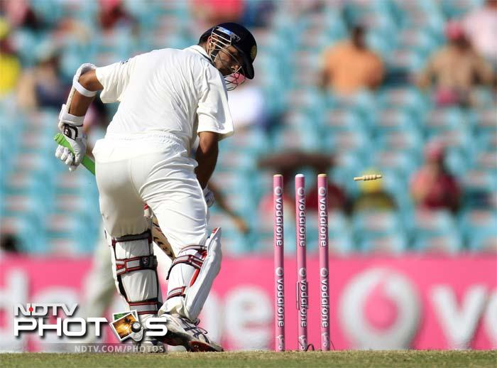 <b>Batting capitulation: </b> Barring master blaster Sachin Tendulkar, none of the Indian batsmen have looked comfortable at the crease. Not Rahul Dravid, who until the Australia tour had been in fabulous form and not VVS Laxman, who has always hit purple patch against Australia. At one stage in India's second innings in Sydney the only point of interest was whether they would register their first 300-plus score of the series.