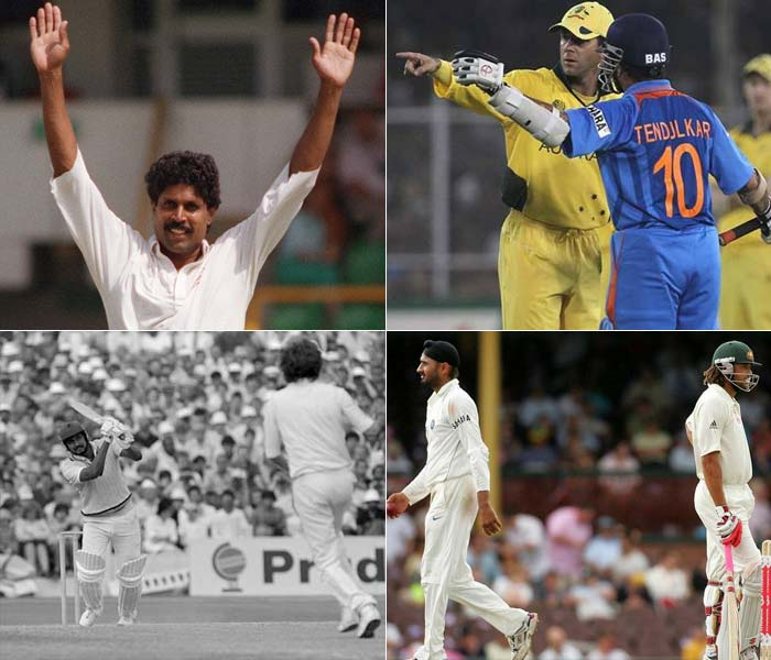 India and Australia are rivals. Period. We will not build it up further or state what has been stated again and again in the run-up to the Boxing Day Test. Instead, here's a list of the best clashes between the two teams that go on the make this on-field rivalry, rival any other.