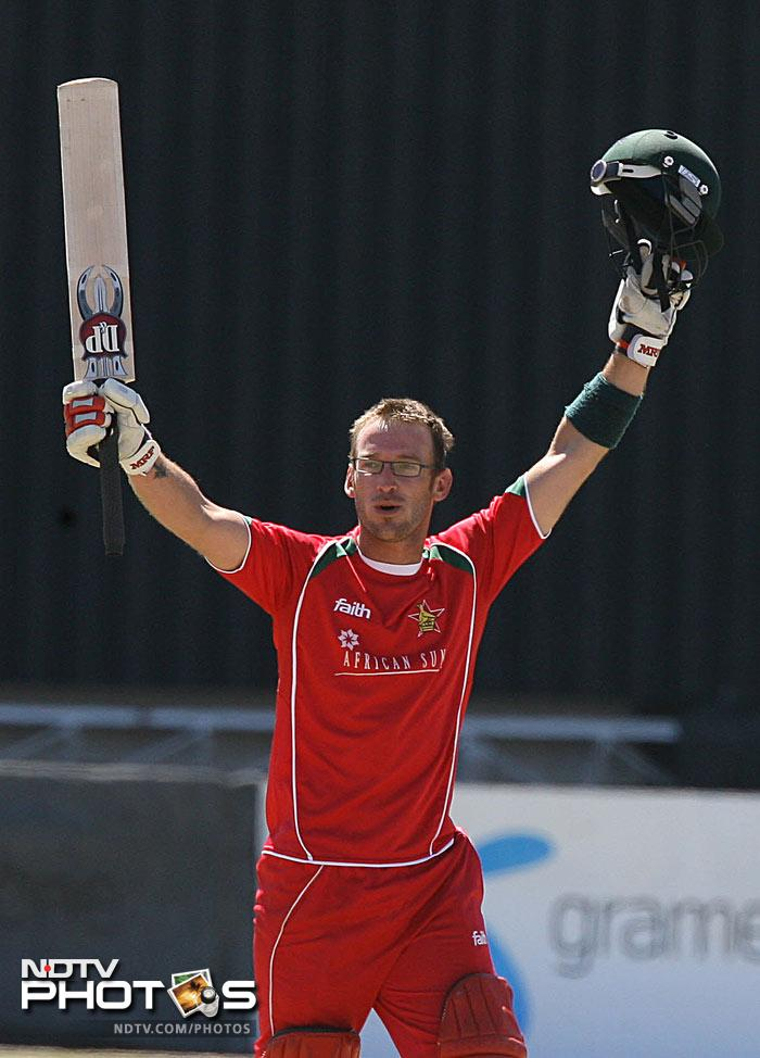 <b>Charles Coventry: </b>194* off 156 balls against Bangladesh on 16 Aug 2009 at Bulawayo. Four: 16, Sixes: 7, Strike Rate: 124.35