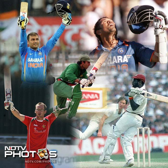 When ODI cricket was introduced, 200 seemed to be a competitive team total but as the game modernised the figure started to be associated with individuals. Here is a list of the top scoring batsmen in an ODI.