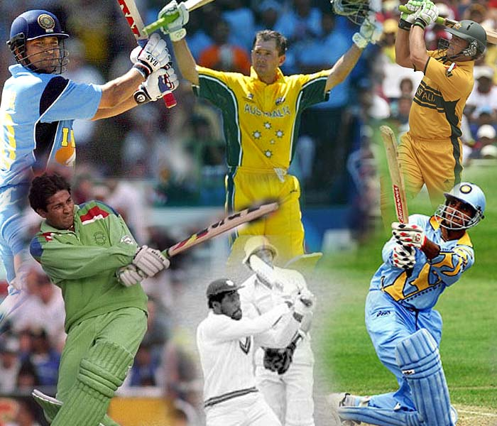 The cricket World Cup has a 36-year long history; divided over 9 events, which have produced greatness in all aspects of the game. The world has witnessed several masterpieces with the bat and to filter down to the ten best knocks ever played during the World Cup is a tough ask.<br><br> CricketNDTV endeavors to bring to you, what we think are benchmark innings taking into account factors like entertainment, situational vitality and sheer brilliance. <br><br> Efforts which have sculpted history or sometimes changed its course. Here are the top 10 World Cup knocks.