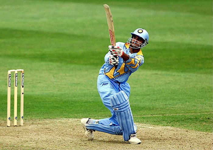 <b>6. Sourav Ganguly (India) 183 vs Sri Lanka 1999 World Cup</b><br><br> India had had an indifferent start to the 1999 World Cup after winning only one of their first three matches when they took on defending champions Sri Lanka in a must-win Group A match.<br><br> Batting first, the Indians got off to a bad start losing opener Ramesh. This brought together the two most talented youngsters in the squad together on the crease and they went on to create history. Sourav Ganguly and Rahul Dravid shared a world record 318-run stand, dispatching the Lankan bowlers with great panache and style.<br><br> The southpaw was the aggressor and he displayed very little respect towards the likes of Vaas and Muralitharan as he hit them out of the ropes on 7 occasions and went on to hit 17 fours in his mammoth knock.