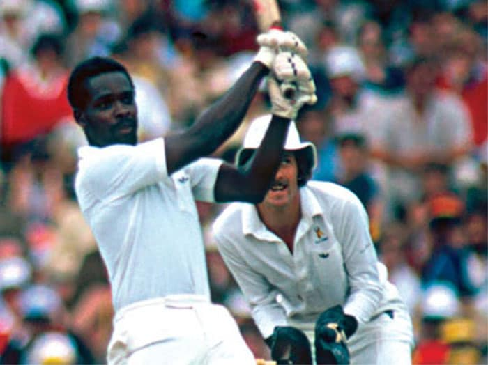 <b>4. Collis King (West Indies) 86 vs England 1979 World Cup Final</b><br><br> The most important knock of King's short international career could not have come on a better stage. With the Windies looking to win their 2nd World Cup title, Collis King took an instant liking to the English attack and hit 86 flawless runs in just 66 balls.<br><br> While at crease, he out-batted the legendary Vivian Richards who would go on to score an unbeaten century in the same match.