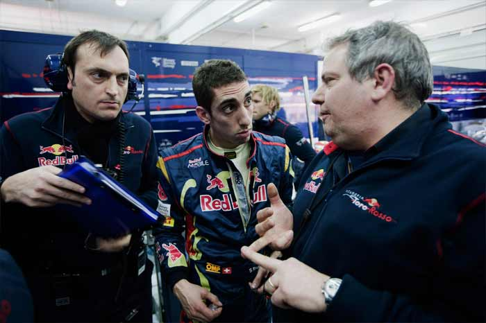 After facing 5 retirements in 2010, 3 more than team-mate Alguersuari, Buemi will do well to sort out his technical issues in consultation with his tech team. (Getty Images)