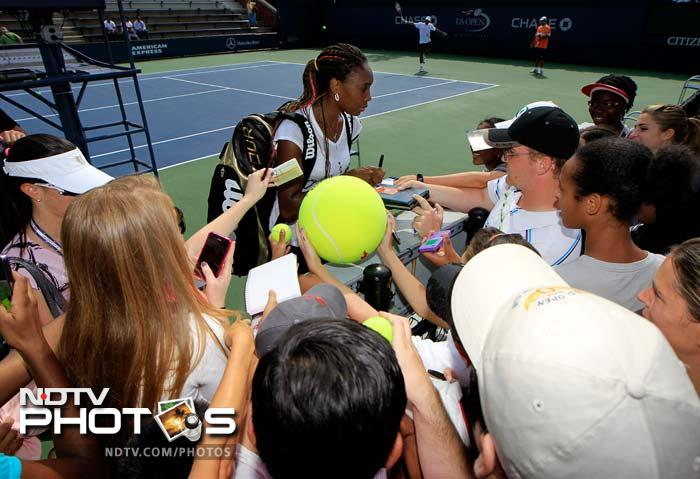Another player who is equally well-known and perhaps, cheered more here is US' Venus Williams. She returns to New York a year after withdrawing hours before her second-round match at the U.S. Open and revealing she had been diagnosed with Sjogren's syndrome.