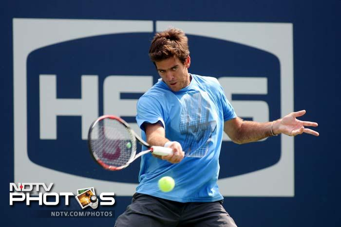 Do not discount Juan Martin Del Potro of Argentina who is capable of registering upsets if he plays to his reputation.