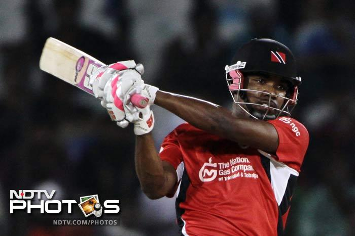Ganga was aided by Darren Bravo (44*), who kept his cool as wickets fell quickly in the early part of Trinidad's innings. (AP Photo)