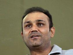 Photo : TUCC: Sehwag among Who's Who at Jamia