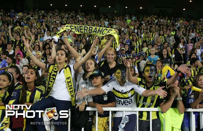 Fenerbahce had been in hot water in July after fans went on the rampage at a friendly game with Ukrainian side Shakhtar Donetsk.